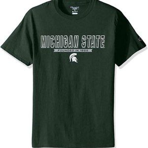NCAA Champion Michigan State Spartans Large Green